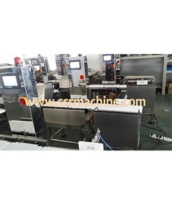 Belt type Automatic check weigher weighing scales weigh inspection machine