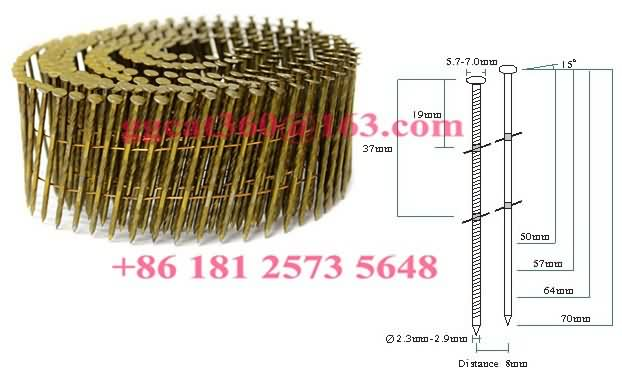 SC-70B Wood Working Coil Nails